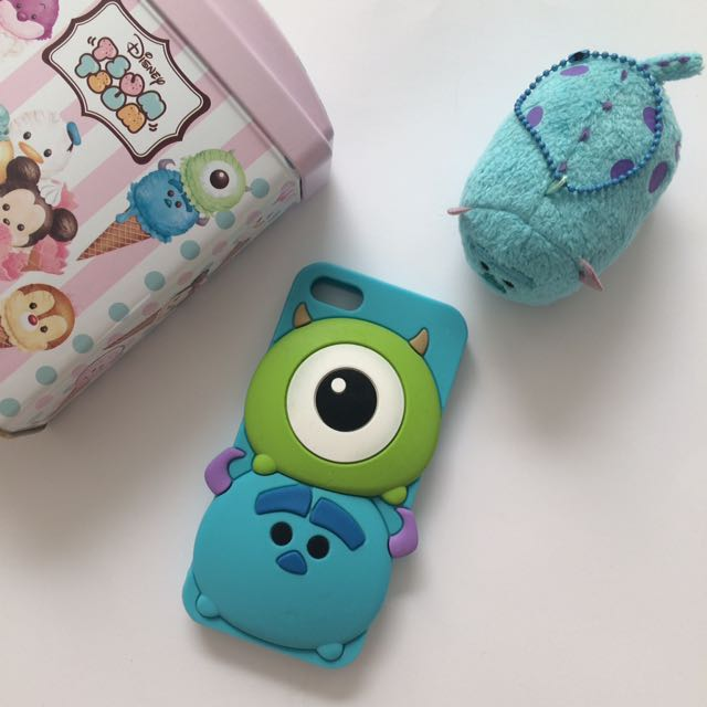 Jelly Case Tsum Sulley&Mike