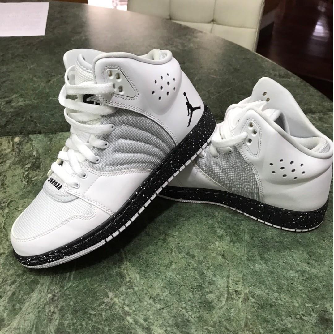 【保證真品】美國購入全新Jordan 高筒白色運動鞋