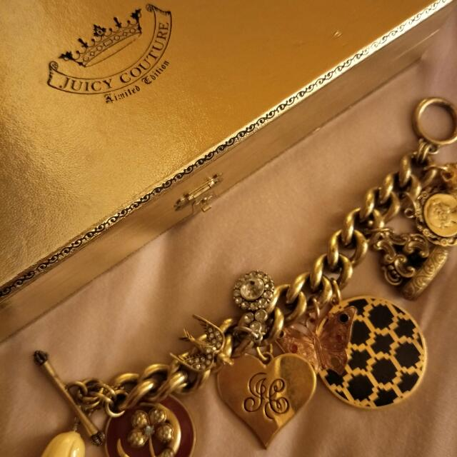 Juicy Couture 復古金手鍊