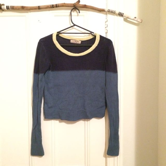 Knitted Cotton Jumper By Lush