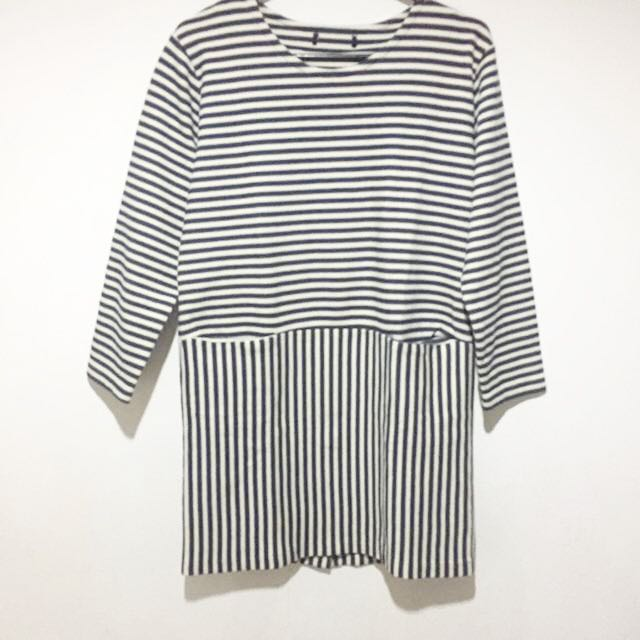Korean Style Loose Shift Dress