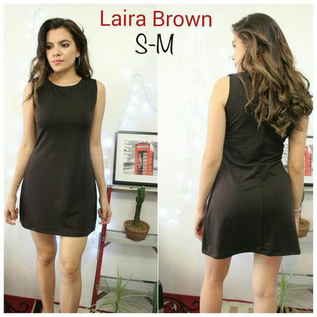 Laira Dress In Brown