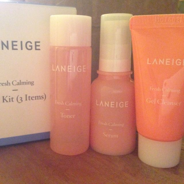 Laneige Fresh Calming Kit