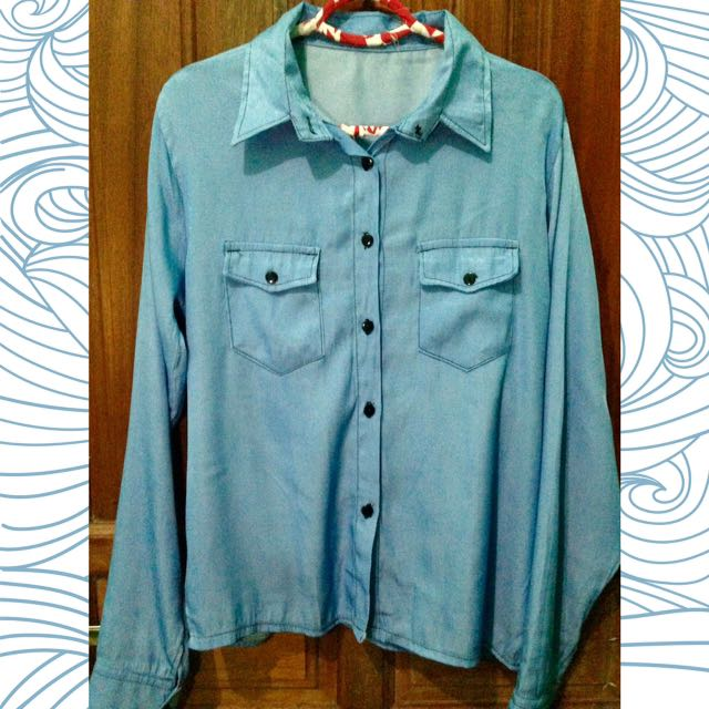 Light Denim Hem