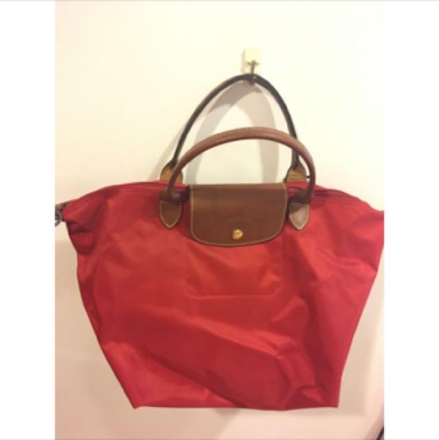 全新Longchampm號短柄手提包