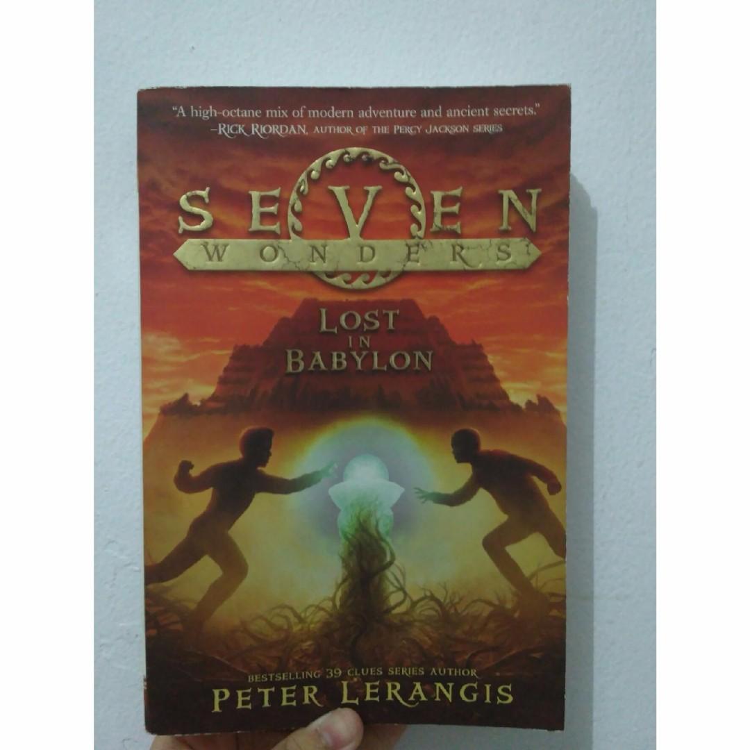 Lost In Babylon (Seven Wonders) - Peter Lerangis