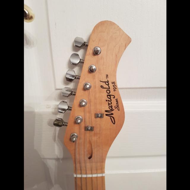 Marigold electric guitar