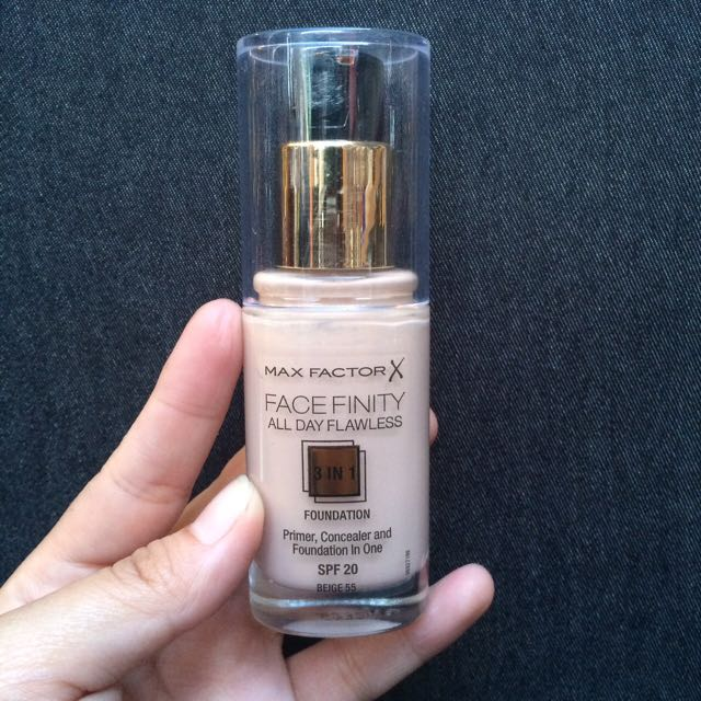 Max Factor Foundation 3in1