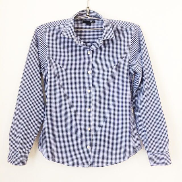 MEMO Gingham Long Sleeves
