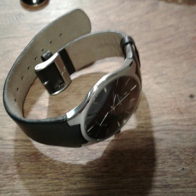 men's watch quartz skagen
