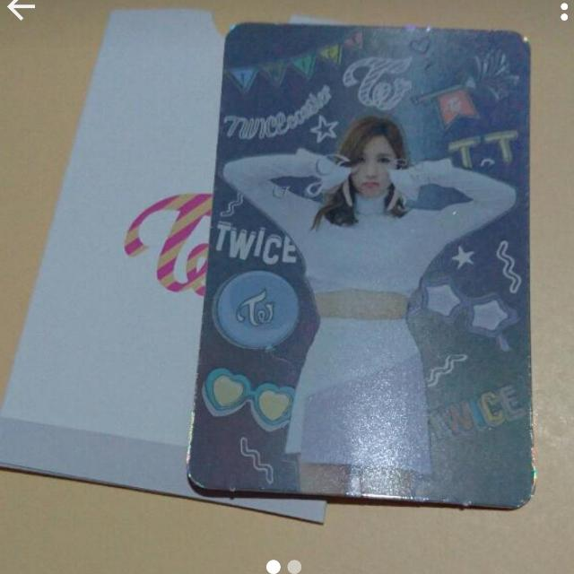 Mina TT Card. (Sold)