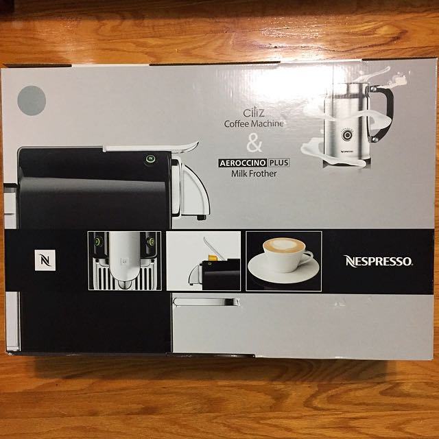 Nespresso Citiz Coffee Machine & Aeroccino Plus Frother