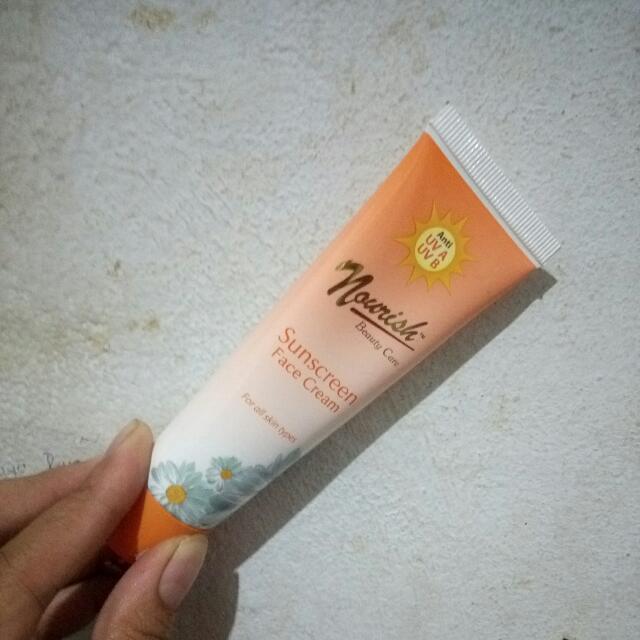 Nourish Sunscreen Face Cream