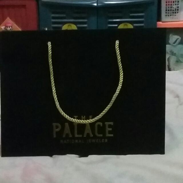 Paper Bag The Palace National Jeweler