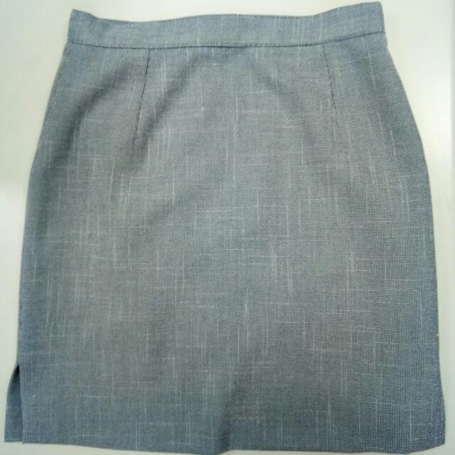 Pencil Cut Office Skirt