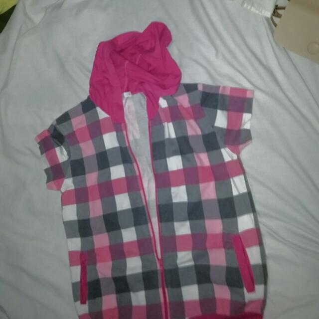 Penshoppe Checkered Hoodie