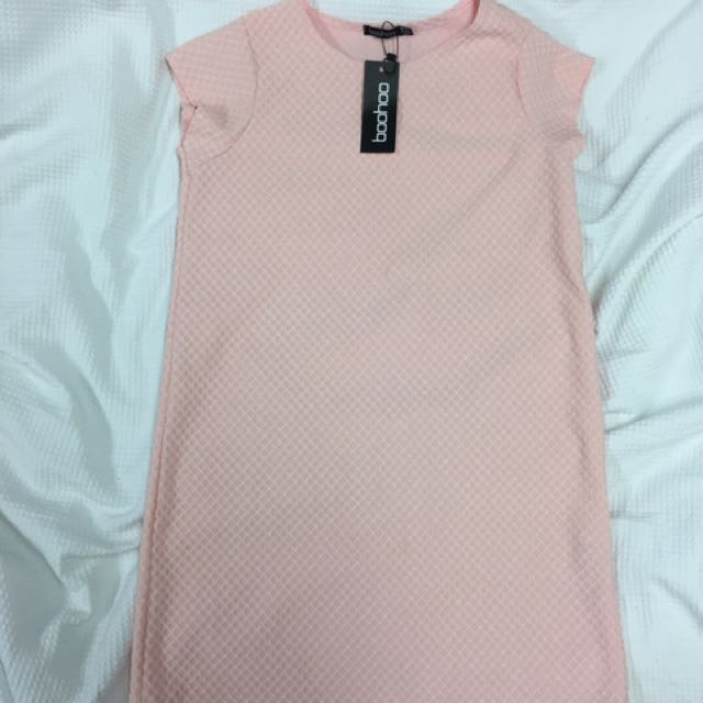 Pink Boohoo Dress