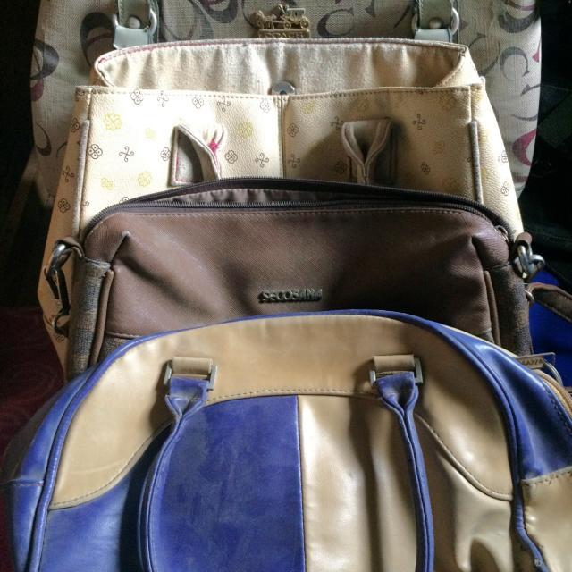 Preloved Handbags bundles of 4