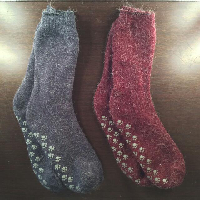 Rabbit Woolblend Indoor Socks