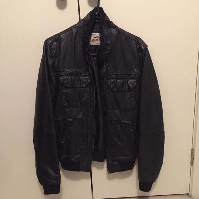 Real Hide By Industrie Leather Jacket
