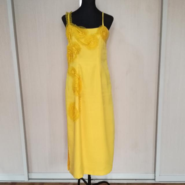 Large Yellow Gown