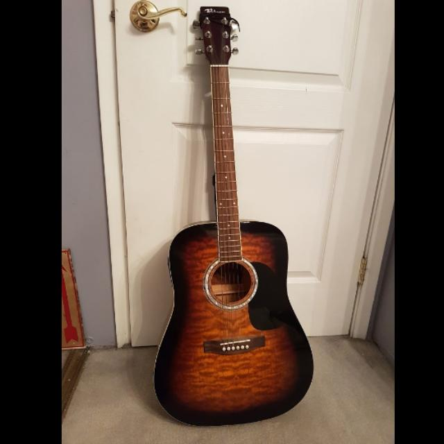 Robson acoustic / electric guitar