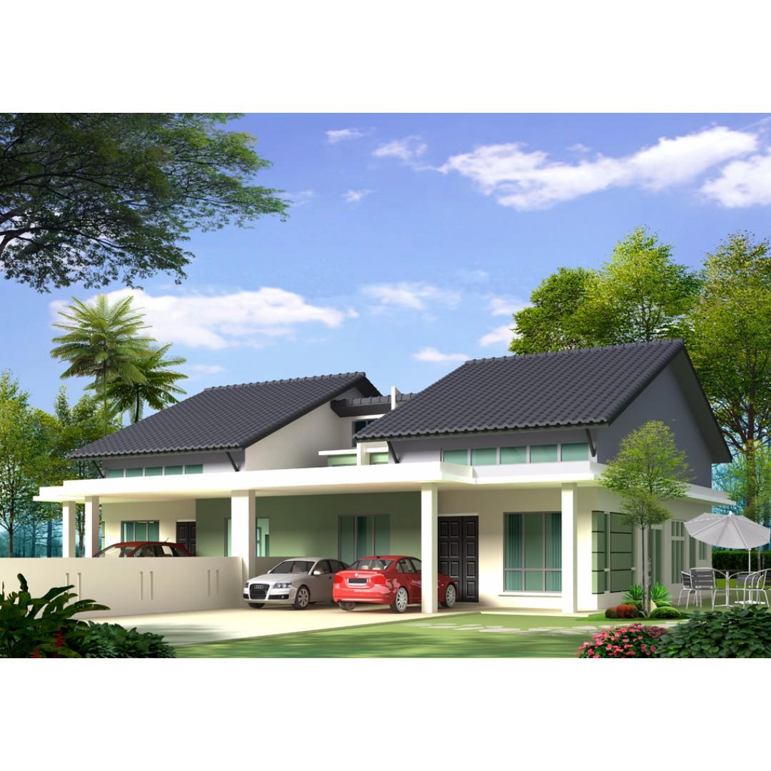 Cara Mendekorasi Lorong Rumah: Rumah Semi D, Taman Nakhoda, Lorong Puyuh, Telok Panglima