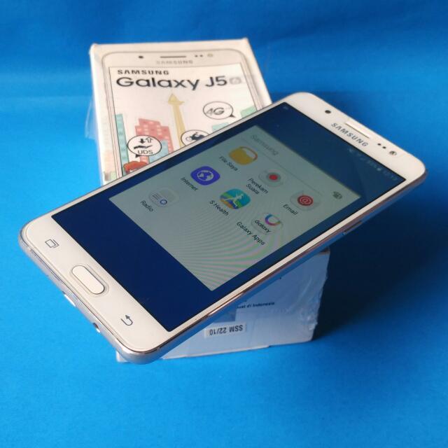 Samsung J5 2016 Master SeIfie Flash 4g garansi panjang fulset bandung