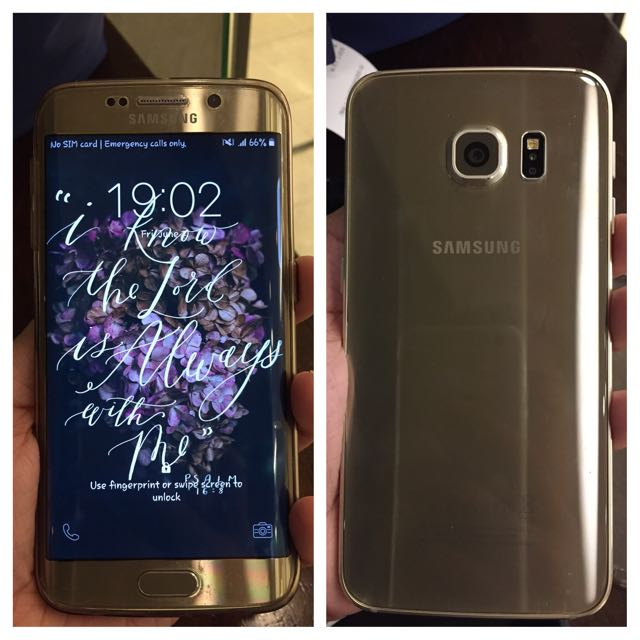 Samsung S6 Edge Gold 64GB **negotiable**
