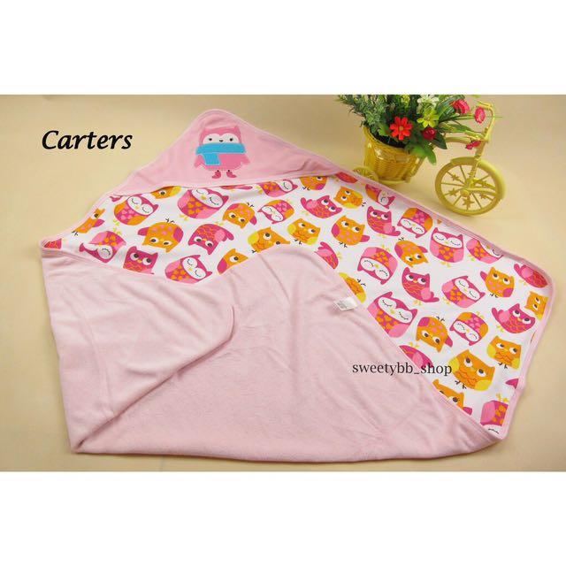 Selimut / Bedong Bayi Carter Dengan Topi Premium Quality
