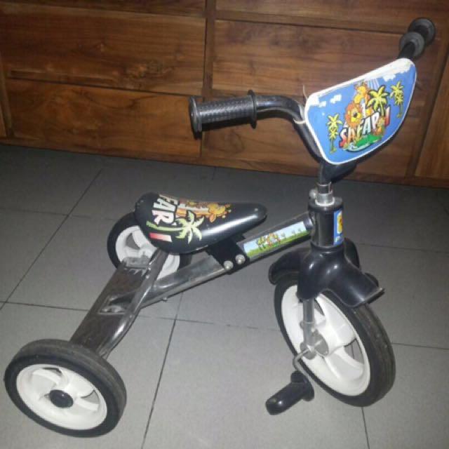 Sepeda Tricycle Roda 3 Untuk Anak Balita
