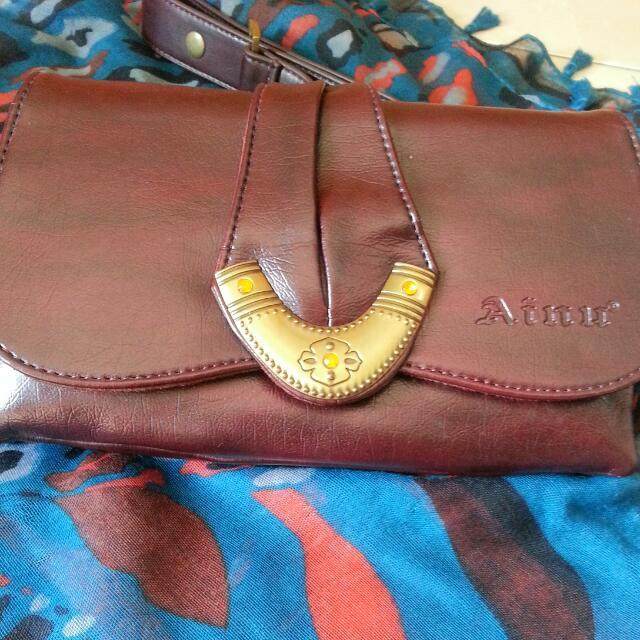 Siling Bag Leather Ainu