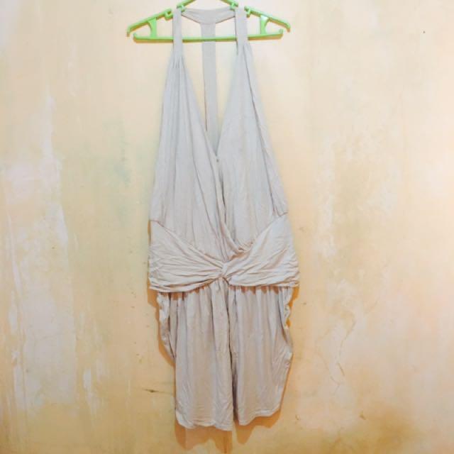 Skintone  Stretch  sexy  Dress