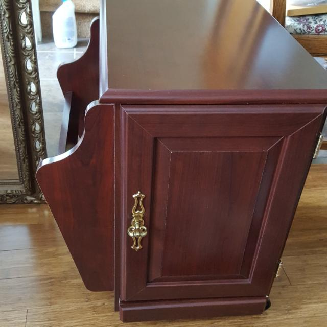 Solid Wood Side Table .. REDUCED.. 40.00