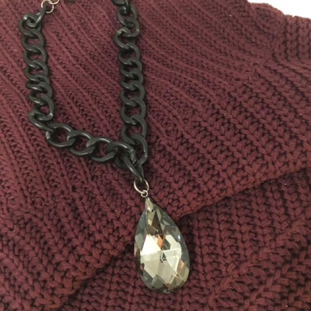 'Some Days Lovin' Maroon Knit ➕📿