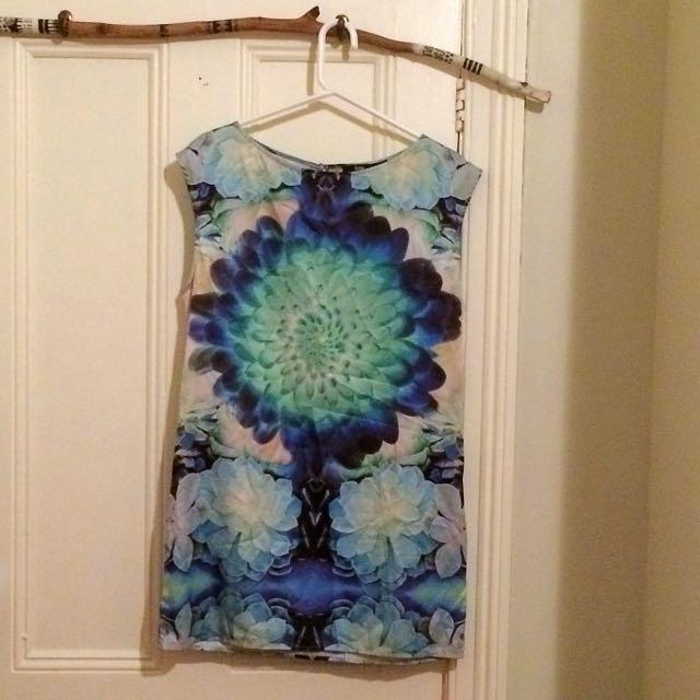 Sportsgirl Succulent Dress - Size 12
