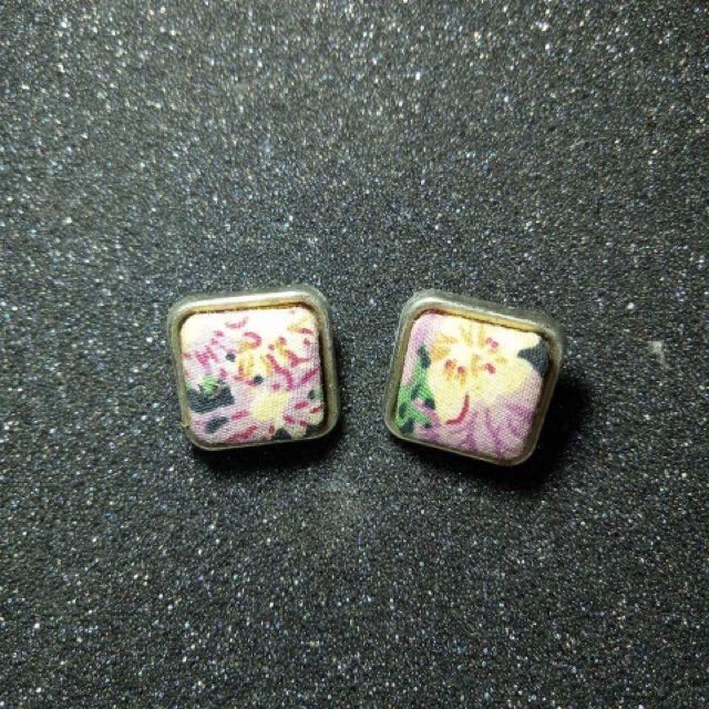Square Vintage Earrings