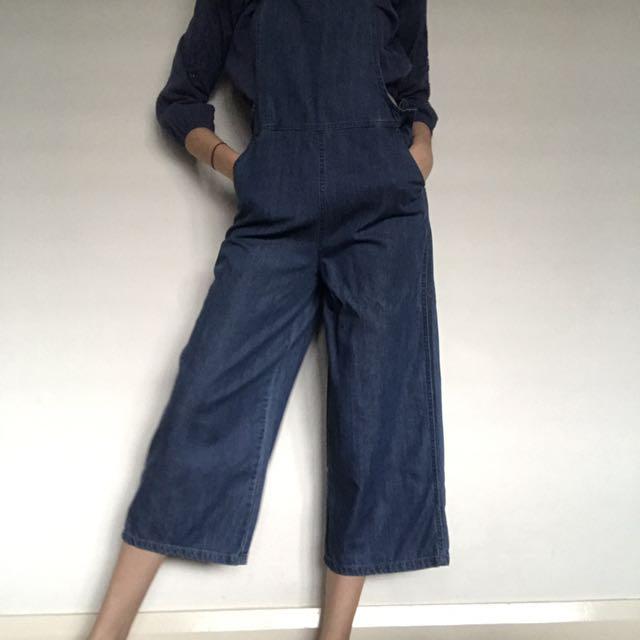 straight leg overalls
