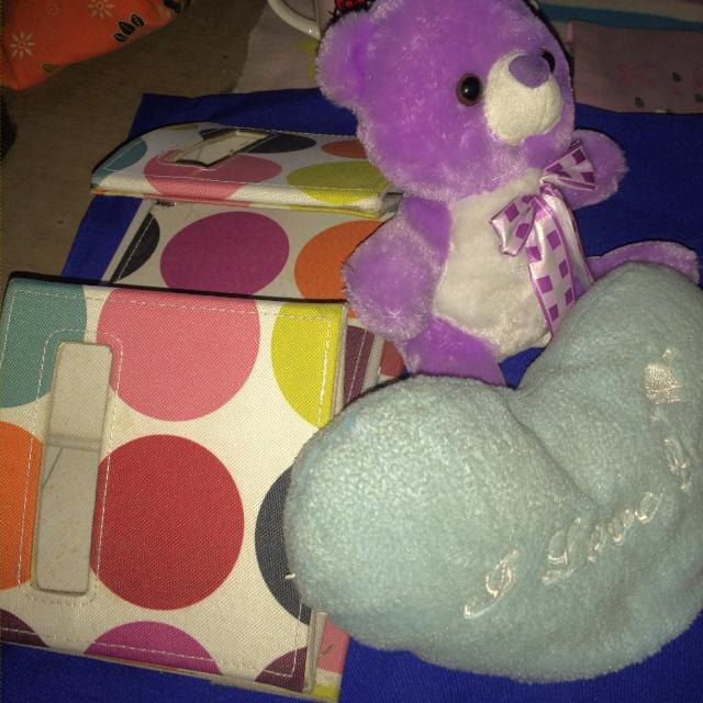 Stuff toy and Storage organizer bundle