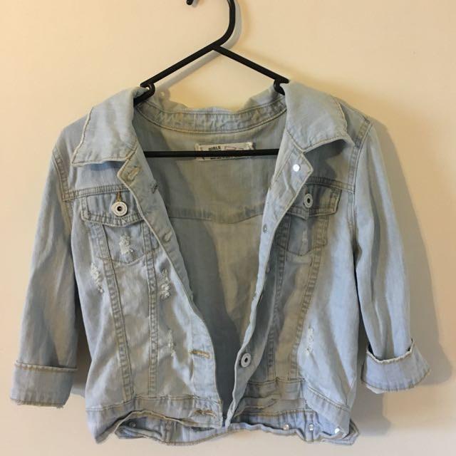 Supré Cropped Denim Jacket
