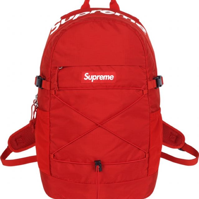 1ee1f658287d Supreme S S 2016 40th 16SS 40th Backpack