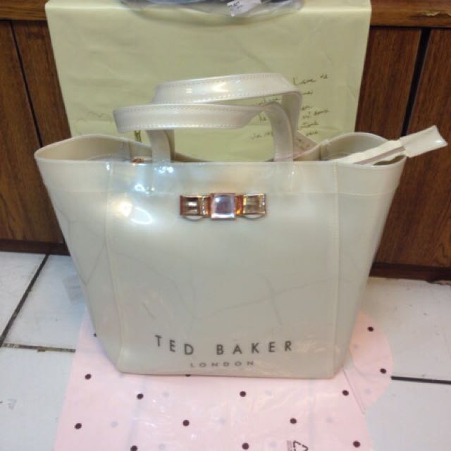 Tas Ted Baker red sleting polos