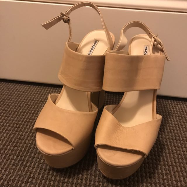 Windsor Smith Nude Heels