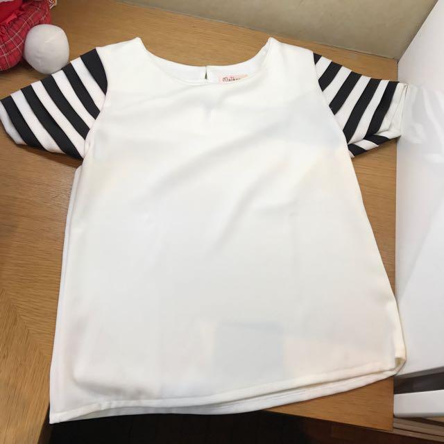 women stripes blouse