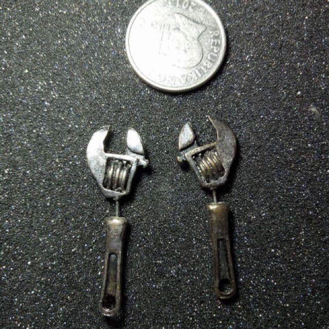 wrench earrings