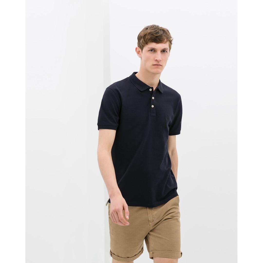 ZARA - Basic Polo Shirt - 100% ORIGINAL