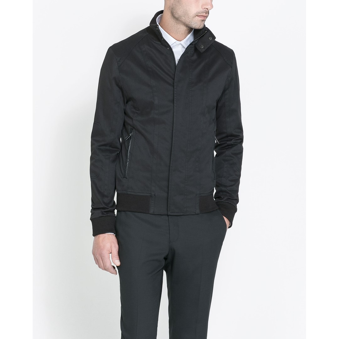 ZARA - Black Jacket - 100% ORIGINAL