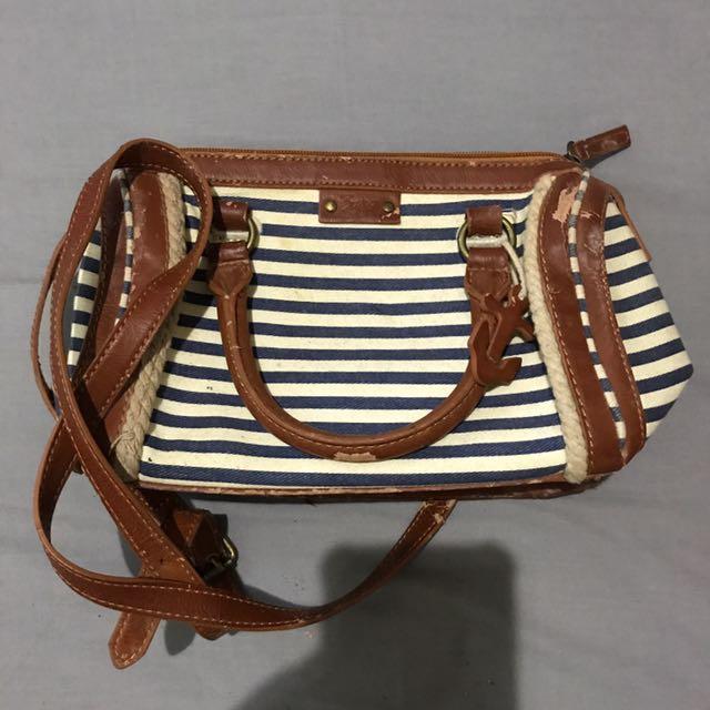 Zara Girls Stripe Sling Bag