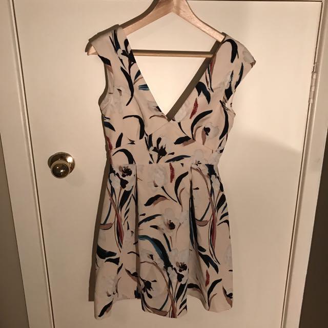 ZARA Patterned Dress