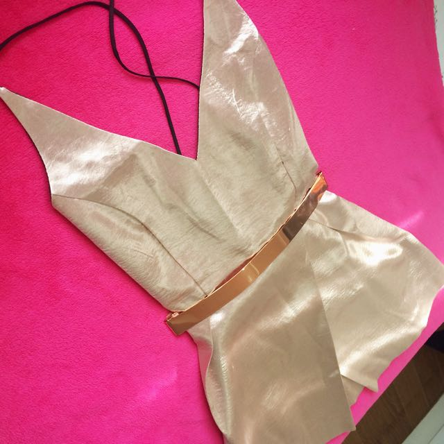 Zara Rose Gold Dress